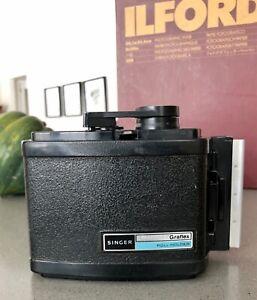 Singer Graflex Back RH8 for Roll Film 6x9 Format