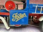2x Foden gold vinyl decals for Mamod sw1 steam wagon door