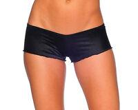 BodyZone Apparel Scrunch Back Micro Boyshorts Panties. M/L. USA Made.1202SL.