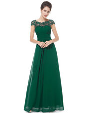 Ever-Pretty Elegant Dark Green Lace Long Evening Dresses Maxi Party Gowns 09993