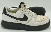 Nike Air Force 1 Low Leather Trainers 488298-140 White/Black UK8/US9/EU42.5