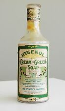 Antique/VTG Drug Store Pharmacy Apothecary Medicine Bottle HYGENOL RX475