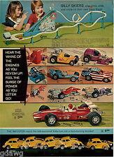 1972 ADVERT 2 PG Scream'n Demons Toy Dare Devil Sets SSP Smash Up Derby Lotus VW