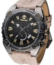 TIMBERLAND PONTOOK LEATHER STRAP WATCH TBL.14113JSQS/02 RRP£189