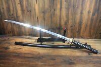 Japanese Hand Forged 9260 Spring Steel Musashi Nodachi Odachi Samurai Sword