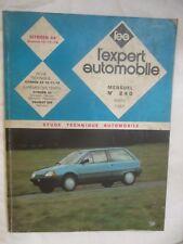 LEA L'Expert Automobile Numéro 240 de 1987 Citroen AX Essence 10 11 14