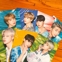 BTS Lights / Boy With Luv Tower Records Shibuya Flyer 7 Set K-Pop Idol Group F/S