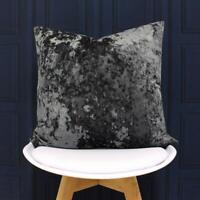 Crushed Velvet Verona By Paoletti Cushion Cover 55 x 55cm