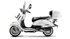 EasyCruiser weiß 50CCM 45 Km/h Retro Motorroller Scooter Mofa Roller