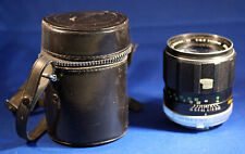 Minolta Mc Tele Rokkor Pf 1:2.5 f = 100 mm Lens With Carrying Case