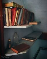 Print - Forgotten Books in Abandoned Maine Farm House