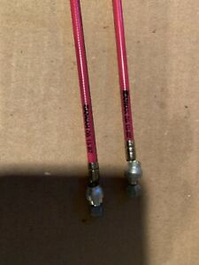 🍀NOS BMX OLD SCHOOL 1987 PINK DATE STAMPED FRONT & REAR GT CW DYNO SKYWAY HARO