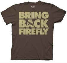 Firefly Tv Series / Serenity Bring Back Firefly Phrase T-Shirt New Unworn