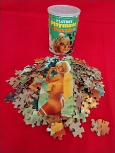 VINTAGE 1968 PLAYBOY PLAYMATE MISS JUNE  Britt Frederickson JIGSAW PUZZLE