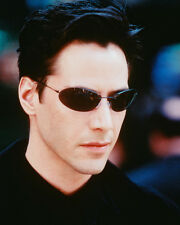 KEANU REEVES MATRIX IN GLASSES 8X10 COLOR PHOTO