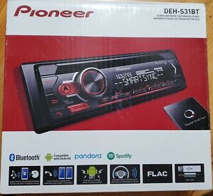 Pioneer DEH-S31BT CD Receiver with Bluetooth