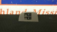 17 CHEVY EXPRESS 3500 FRONT DRIVER LEFT MASTER WINDOW SWITCH GRAY