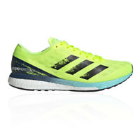 adidas Mens Adizero Boston 9 Running Shoes Trainers Sneakers Green Sports