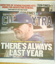 Dodgers Win,Cubs Lose!There's Always Last Year-Chicago SunTimes FINAL 11/20/17