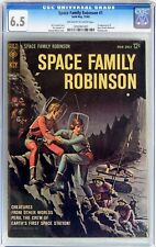 Space Family Robinson #1 (1962 Gold Key Western) CGC 6.5 Lost in Space Low Dist.