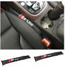 Audi S Line Car Seat Gap Filler Soft Pad Padding Spacer Design Leather