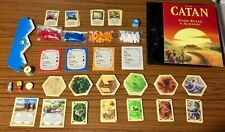 Settlers of Catan Replacement Pieces Parts Cards Tiles Roads Cities Board Game