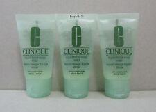 Clinique Liquid Facial Soap Mild Dry Combination ~ 30ml (1 fl.oz.) x 3