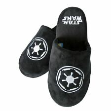 Star Wars Galactic Empire Darth Vader Black Adult Mule Slippers - UK 8/10
