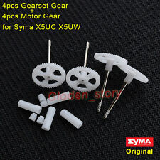4PCS Original Motor Gear+Gear Wheel for Syma X5UC X5UW RC Drone Quadcopter Spare