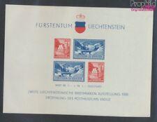 Liechtenstein block2 MNH 1936 Stamp Exhibition (9063481