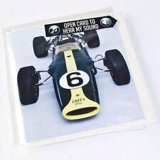 La Lotus 49 biglietto d'auguri del suono