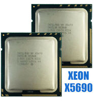 Intel Xeon X5690 CPU 3.46GHz 12MB L2 Cache Six Core server CPU USED 6 Cores 12MB