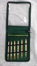 Knit Pro Bamboo Deluxe Interchangeable Needle Set N022542 10 Pairs with Cables