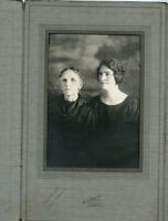Antique Photo Folder-Oakland-CA-2 Ladies-One 70 Yrs-Mary-Clara UHRINE-1921