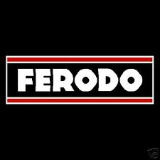 Ferodo Brakes Decals Stickers Rally Old Vintage