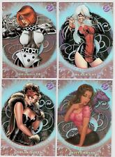 MARVEL DANGEROUS DIVAS SULTRY SEDUCTRESSES COMPLETE TRADING CARD SET NEW