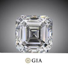 1.5 carat ASSCHER cut DIAMOND GIA H color VS1 clarity no flourescens Ideal loose