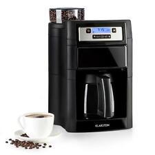 Machine à café 1000W Cafetière 1,25L & thermos + broyeur 5 degrés de mouture