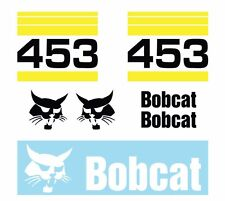 Bobcat 453 Skid Steer Set Vinyl Decal Sticker Aftermarket