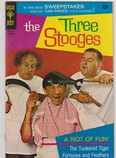 THE THREE STOOGES #45 VG+ 1969 GOLD KEY