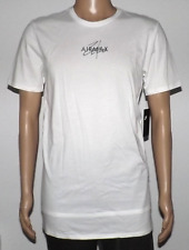 NIKE AIR MAX ZERO EXTENDED T-SHIRT ATHLETIC CUT WHITE 898206 100 SIZE LARGE NWT
