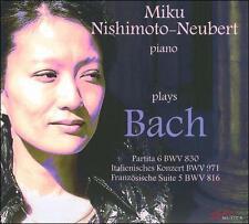 Bach: Miku Nishimoto-Neubert Plays Johann Sebastian Bach, New Music