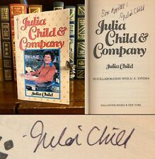 Julia Child and Company HAND SIGNED by Julia Child! Cookbook! French Chef! Rare!