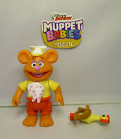 2018 Disney Jr. Muppet Babies Fozzie & Bow and Arrow Loose & Complete Figure