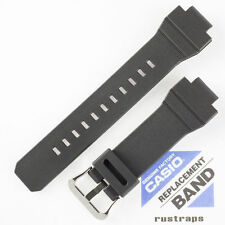 CASIO black rubber watch band for G-7800, G-7800B, 10309325