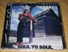 "STEVIE RAY VAUGHAN AND DOUBLE TROUBLE ""Soul To Soul"" NEW Bonus Trks (CD,1985/99)"
