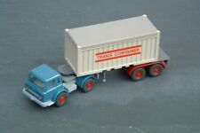 WIKING Vintage HO/OO INTERNATIONAL HARVESTER Articulated Box Container TRUCK