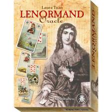 Lenormand Oracle dur box set par Laura Tuan 36 cartes d'inspiration + guide
