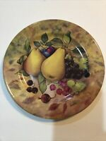 MONACO HAND DECORATED IN ITALY FRUIT PLATE