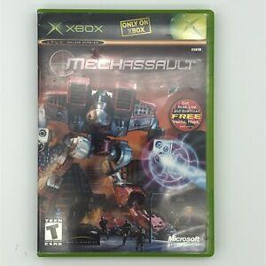 MechAssault-Microsoft Xbox - CIB w/ Manual Tested